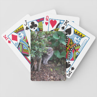 Minnie in the garden deck of cards