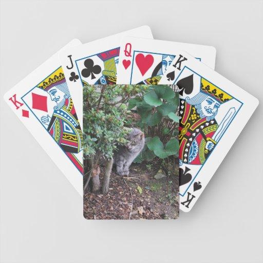 Minnie in the garden poker cards