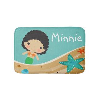 Minnie Mermaid Bath Mats