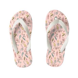 Minnie Mouse | Adventures Await Pattern Flip Flops