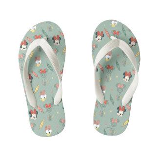 Minnie Mouse & Daisy Duck | Dream Catcher Pattern Flip Flops