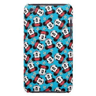 Minnie Mouse Flower Face Barely There iPod Cover