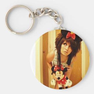 Minnie Mouse Kassi Kandi Keychain