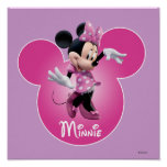 Minnie Mouse Pink Posters