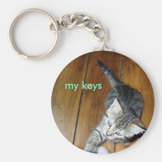 minnie my keys basic round button key ring