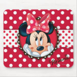 Minnie Polka Dot Frame Mousepads