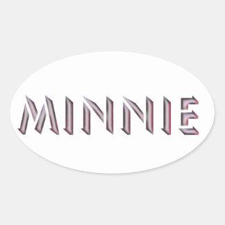Minnie sticker