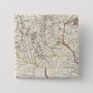 Minnisota and Wisconsin 15 Cm Square Badge
