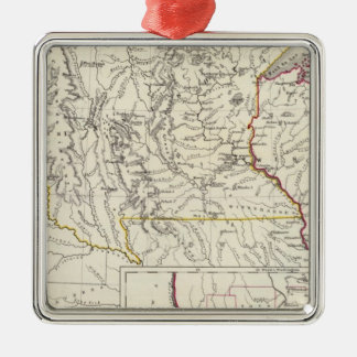 Minnisota and Wisconsin Christmas Ornament