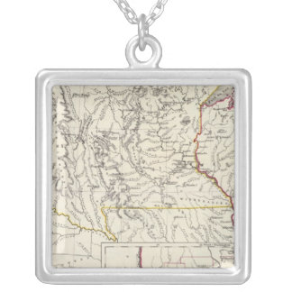 Minnisota and Wisconsin Silver Plated Necklace