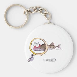 Minnow fish, tony fernandes key chain