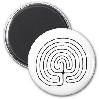 Minoan Labrynth Magnet