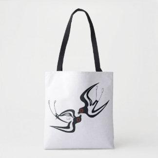 Minoan Swallow Tote Bag