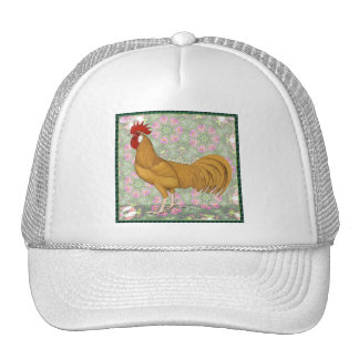 Minorca:  Old-fashioned Rooster Hats
