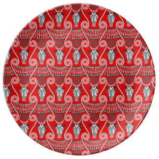 Minotaur Decorative Porcelain Plate