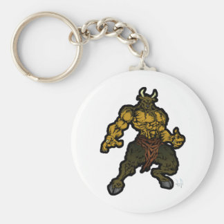 Minotaur Key Ring