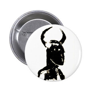 Minotaur no.13 6 cm round badge