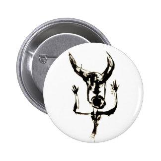 Minotaur no.17 6 cm round badge