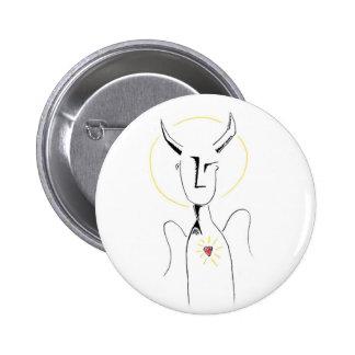 Minotaurangel 6 Cm Round Badge