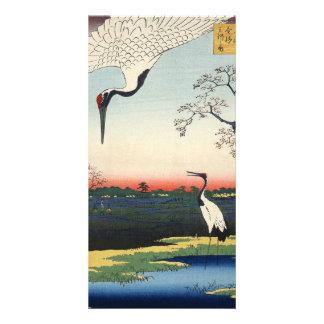 Minowa, Kanasugi, Mikawashima. Personalized Photo Card