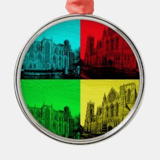 minsterpano Pop Art Christmas Ornament