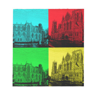 minsterpano Pop Art Notepads