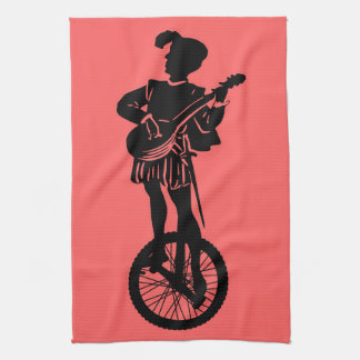 Minstrel Cycle Tea Towel