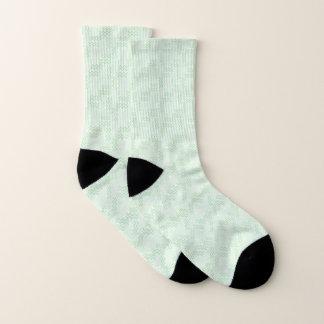 Mint Abstract Memphis Design Socks