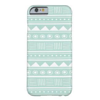 Mint Aztec Tribal Pattern iPhone 6 Case
