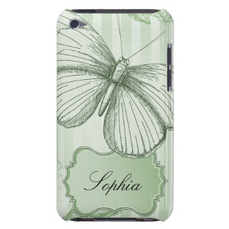 Mint Butterfly Barely There iPod Case