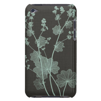Mint & Charcoal Nature Study I Barely There iPod Cases