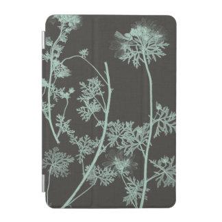 Mint & Charcoal Nature Study IV iPad Mini Cover