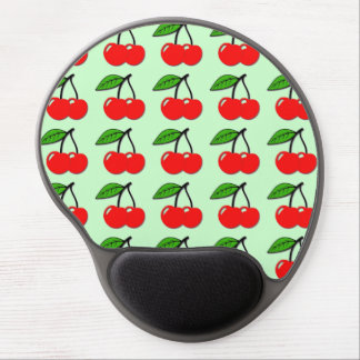 Mint Cherry Gel Mousepad Gel Mouse Mat