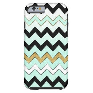 Mint Chevron iPhone 6 case Tough iPhone 6 Case