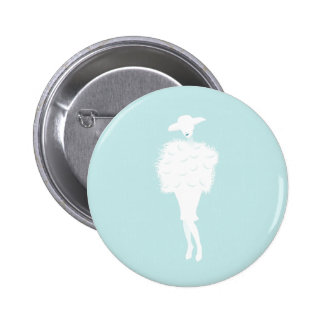 Mint Chic 6 Cm Round Badge
