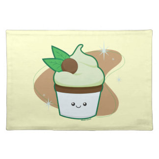 Mint Chip Cupcake Placemats