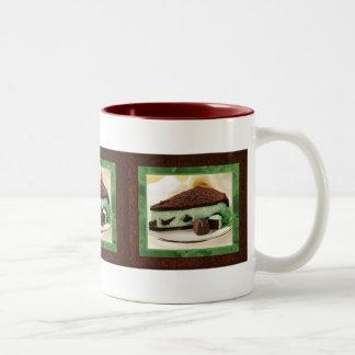 Mint Chocolate Cheesecake Mug