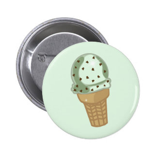 Mint Chocolate Chip 6 Cm Round Badge