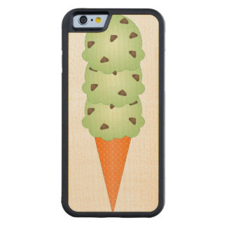 Mint Chocolate Chip Carved® Maple iPhone 6 Bumper