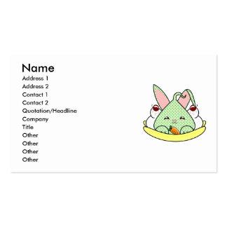 Mint Chocolate Chip Hopdrop Split Business Card Template