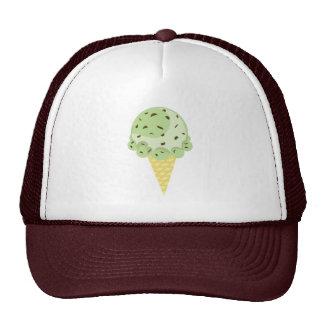 Mint Chocolate Chip Ice Cream Hat