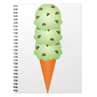 Mint Chocolate Chip Note Books