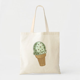 Mint Chocolate Chip Tote Bag