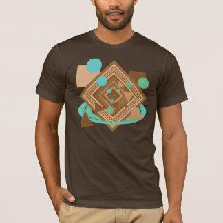 Mint Chocolate Geometry T-Shirt