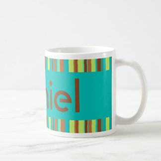 Mint Chocolate Name Mug