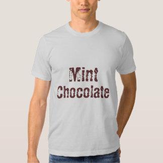 Mint, Chocolate Tee Shirts