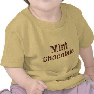 Mint, Chocolate T-shirts