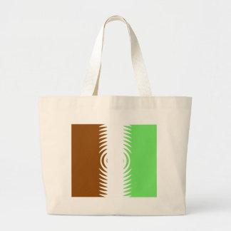 Mint Chocolate Vanilla Pattern Canvas Bags
