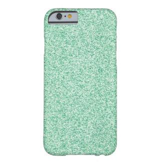 Mint Glitter iPhone 6 Case