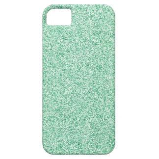 Mint Glitter iPhone 5 Covers